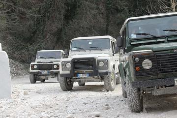 4x4 off road adventure of Carrara marble quarries from Pisa